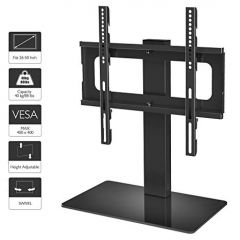 1Home ST08 Universal TV Stand Black