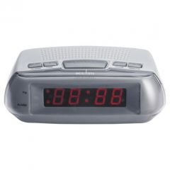 Acctim 14017 Metizo Alarm Clock Mains Operated With Battery Backupsnooze Function Red Led Display