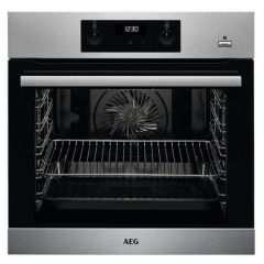 Aeg BES255011M Agency Built In Electric Single Oven - Stainless Steel - A Energy Rated