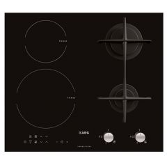 Aeg HD634170NB Induction And Gas Hob