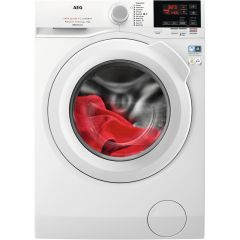 Aeg L6FBG841CA Wifi Connected 8Kg Washing Machine With 1400 Rpm - White - A+++ Rated