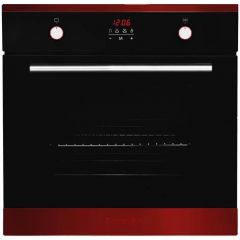 Baumatic BOIM678RD Single Multifunction Oven 78 Litres Led Full Programmer To Programme The Oven To