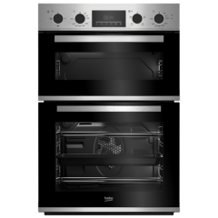 Beko CDFY22309X Agency Built In Electric Double Oven - Stainless Steel - A Energy Rated