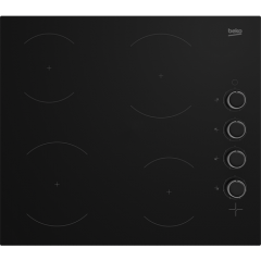 Beko CIHYV21B Agency 58Cm Ceramic Hob - Black