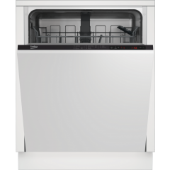 Beko DIN15322 Agency Integrated Full Size Dishwasher - White - 13 Place Settings