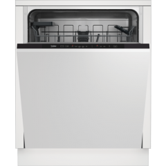 Beko DIN15C20 Agency Integrated Dishwasher - Stainless Steel - A++ Energy Rated