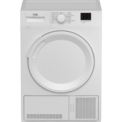 Beko DTLCE80041W Agency 8Kg Condenser Tumble Dryer - White - B Energy Rated