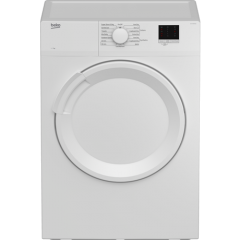 Beko DTLV70041W Agency 7Kg Vented Tumble Dryer - White - C Energy Rated