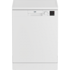 Beko DVN05C20W Agency Full Size Dishwasher - White - A++ Energy Rated