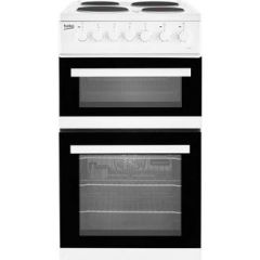 Beko EDP503W Agency 50Cm Electric Double Oven With Grill Cooker - White