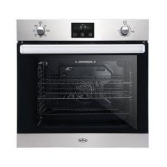 Belling BI602FPCTBLK Agency 444444776 Electric 73L Gross Capacity Single Oven Oven - Black - A Energ