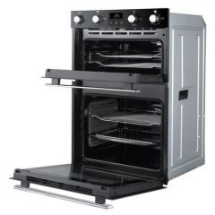 Belling BI902FPBLK Agency 444444786 Electric Equiflow™ Fan Oven Double Oven Oven - Black - A Energy
