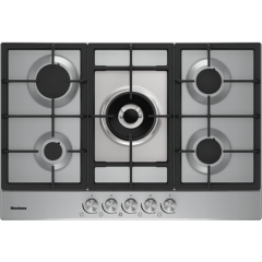 Blomberg GMB83512 Agency 75Cm Gas Hob - Stainless Steel