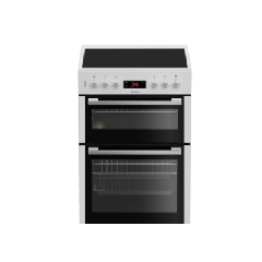 Blomberg HKN65W Agency 60Cm Double Oven Electric Cooker With Ceramic Hob - White