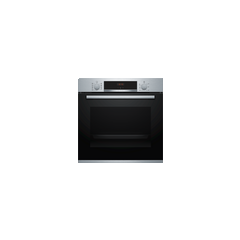 Bosch HBS534BS0B Agency Built In Electric Single Oven With 3D Hot Air - Stainless Steel - A Rated