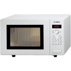 Bosch HMT75M421B Agency Compact Microwave Oven 17 Litre Capacity White
