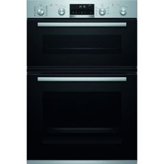 Bosch MBA5785S6B Double Built In Electric Oven Top 34 Litres/Main 71 Litres Energy Rating A
