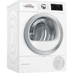 Bosch WTWH7660GB Agency Condenser Tumble Dryer With Heat Pump - White - A++ Energy Rated