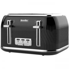 Breville VTT890 4 Slice Toaster Flow Black