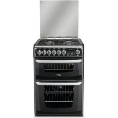 Cannon CH60DHKF Dual Fuel Cooker With Double Oven 60Cm Black
