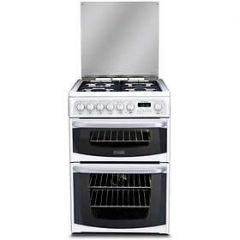 Cannon CH60DHWF Dual Fuel Cooker With Double Oven 60Cm White