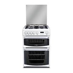 Cannon CH60GCIW Gas Cooker 60Cm Double Oven With Lid