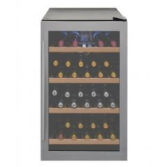 Capel WF334 Stainless Steel Freestanding Single Zone Wine Cabinet