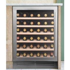 Capel WI6142 Stainless Steel Undercounter Single Zone Wine Cabinet