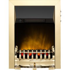 Dimplex 047496 Balmoral Opitflame 2Kw Fire Brass