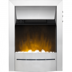 Dimplex 047519 Savena Ecolite 2Kw Opitflame Brushed Chrome