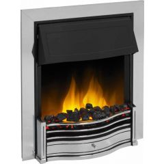 Dimplex DAN20CH-LED Danesbury Chrome With Optiflame Led Effect (Real Coals)