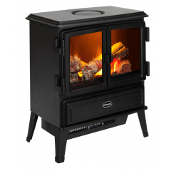 Dimplex OKT20 Oakhurst (Black Stove With Opti-Myst Flame And Smoke Effect, Remote)