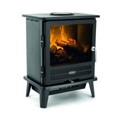 Dimplex WLL20 Willowbrook (Black Stove With Opti-Myst Flame And Smoke Effect, Remote)