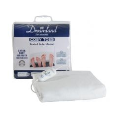 Dreamland 16156 Cosy Toes Heated Double Underblanket