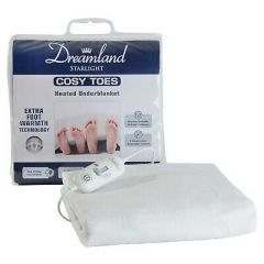 Dreamland 6943 King Cosy Toes Heated Underblanket