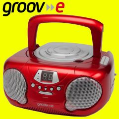 Groove GV-PS733-RD Red Portable CD Player