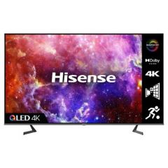 Hisense 75A7GQTUK Agency 75` Qled 4K Uhd Hdr Smart TV With Hdr10+ Dolby Vision™, Dolby Atmos® And Al