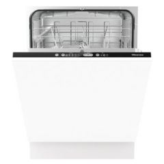 Hisense HV651D60UK Agency Integrated Full Size Dishwasher - White - A+++ Energy Rated