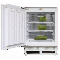 Hoover HBFUP 130 NK/N Integrated Under Counter Freezer With Fixed Door Fixing Kit - A+ Rated