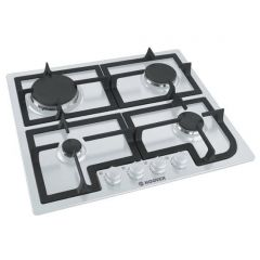 Hoover HGH64SCW 60Cm Gas Hob White