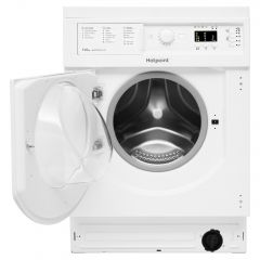 Hotpoint BIWDHG75148UKN Integrated 7Kg / 5Kg Washer Dryer With 1400 Rpm - White - B Rated