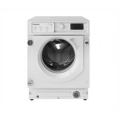 Hotpoint BIWMHG81484 Integrated 8Kg Washing Machine With 1400 Rpm - White - C Rated