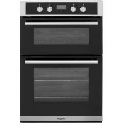 Hotpoint DD2844CIX 90Cm Double Oven, Catalytic Liners