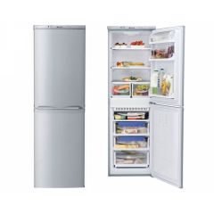 Hotpoint HBNF5517S 1.74M High , 54.5Cm Wide F/Free 155L Fridge, 85L Freezer Silver A+