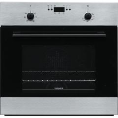Hotpoint MMY50IX Built In Electric Single Oven - Stainless Steel - A Rated