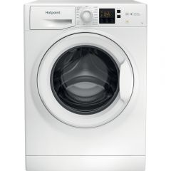 Hotpoint NSWF742UWUKN Core Washer 7Kg 1400Spin White Antistain Full Load 45Minutes