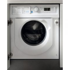 Indesit BIWMIL71252 Integrated 7Kg Washing Machine With 1200 Rpm - White - A++ Rated