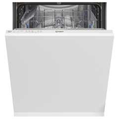 Indesit DIE2B19UK Integrated Full Size Dishwasher - White - A+ Energy Rated