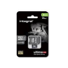 Integral 37699 8Gb Micro Sdhc Card With Sd Reader