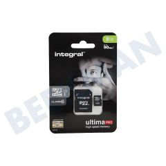 Integral INMSDH8G10 8Gb Micro Sdhc Card With Sd Reader